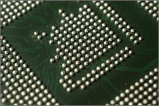 Boule de soudure PCB